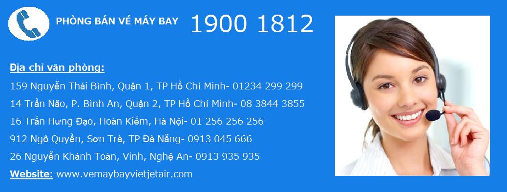 Hướng dẫn đặt vé máy bay Vietjet Air TP HCM (Sài Gòn) Huế