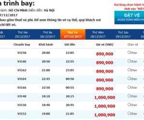 Cách đặt và thanh toán vé máy bay Vietjet Air tại Bình Dương