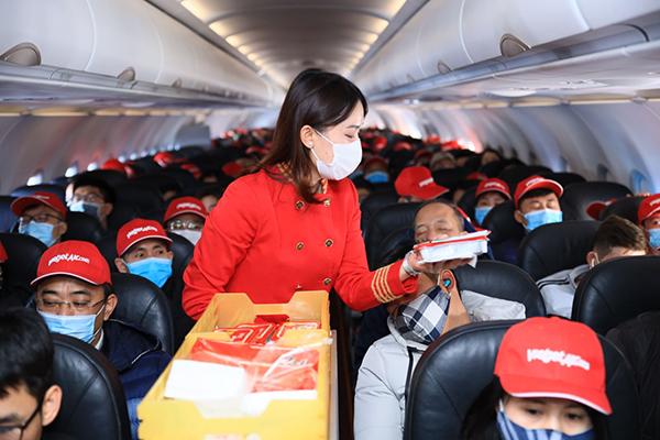 Vietjet nối lại đường bay quốc tế đến Thái Lan, Nhật Bản, Hàn Quốc, Đài Loan